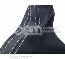 Selector lever handle soul (black)/titanium grey 8K1713139T IWX