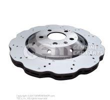 Тормозной диск (вентилир.) 8T0615601A