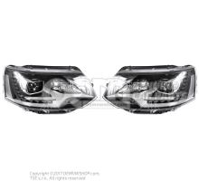 Genuine Volkswagen Multivan LED Bixenon leadlights kit - LHD OEM01532477