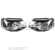 Kit de linternas originales de Volkswagen Multivan LED Bixenon - LHD OEM01532477