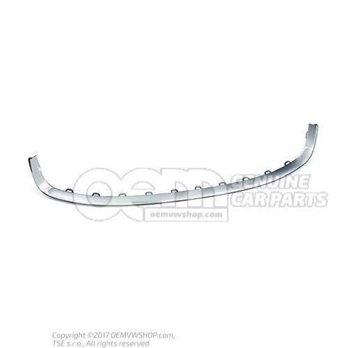 Trim strips for bumper