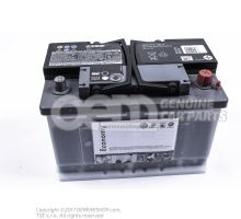 Battery with state of charge display, full and charged         'ECO' JZW915105A
