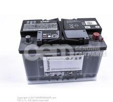 АКБ с индикатором степени зарядки,заправлен. и заряжен.       'детали Economy' JZW915105A