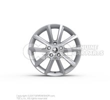 Алюминиевый диск серебристый brillantsilber 5E0071497A 8Z8
