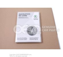 Carte memoire SD pour systeme de navigation 3T0051255AB