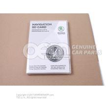 SD存储卡,用于 导航系统 3T0051255AB