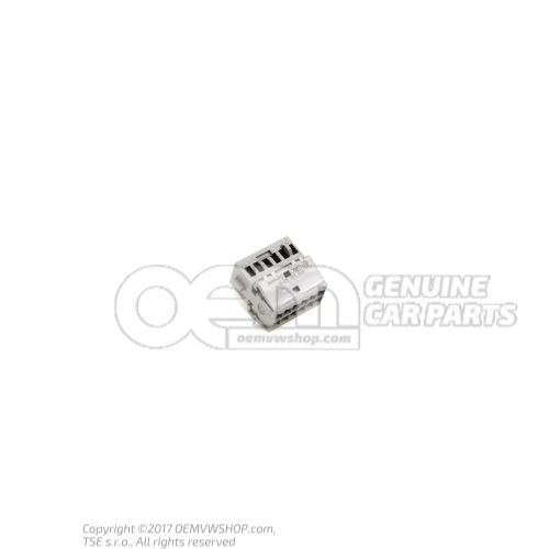 Caja de contactos planos con bloqueo de contacto 8X0035447B
