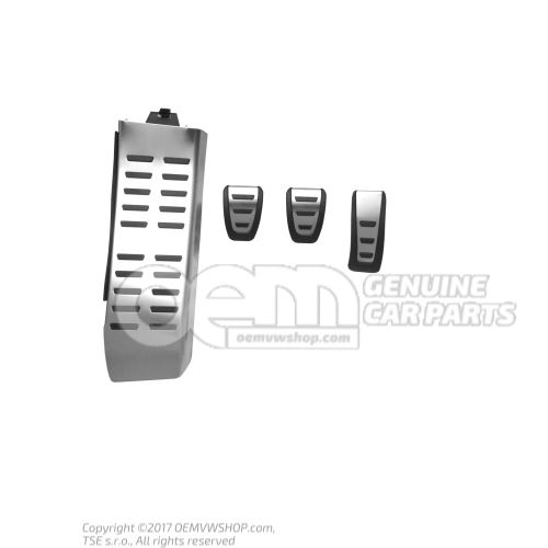 1 set pedal caps