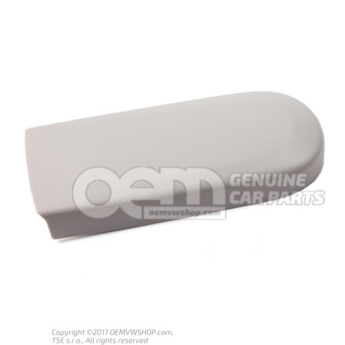 Cover plate pearl grey 5P0955737 Y20
