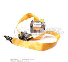 Three-point automatic seat yellow/satin black 6Y0857701A UWN