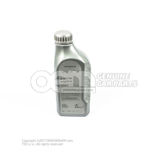 \\\longlife\\\ engine oil 1.0 ltr. G 052195M2