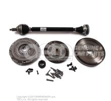 Kit de reparación para motores diesel de doble masa volante VW VW Skoda Seat 6C0198105