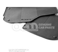1套脚垫(橡胶) Skoda Superb 3T 3T1061551