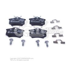 1 set of brake pads for disk brake     'ECO' JZW698451A