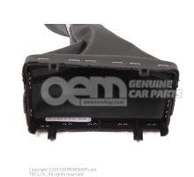 Selector lever handle soul (black)/titanium 4G1713139P NOA