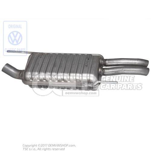 Rear silencer 1H6253609AG