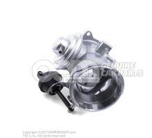 Exhaust recirculation valve