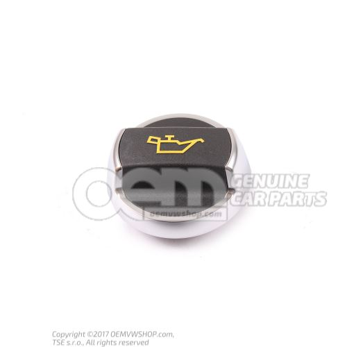 Genuine Porsche 991 oil filler cap 99110747501