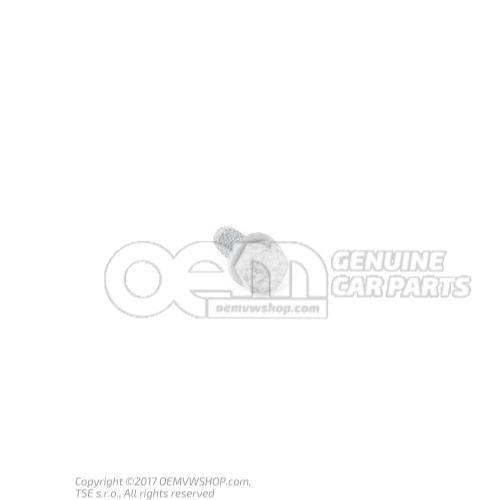 N  10082912 Tornillo hexagonal (comb.) autofrenante M6X16