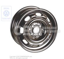 Steel rim rally black 1HM601025 03C