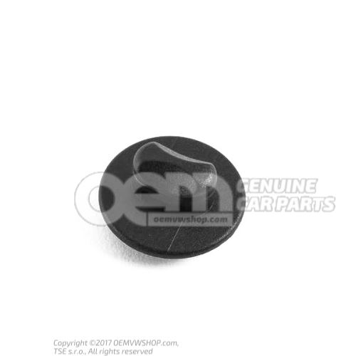 Bracket for flooring flooring retaining clip satin black front upper upper front 3D0864199A B41