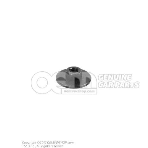 N  90714303 六角螺母与垫圈 M6