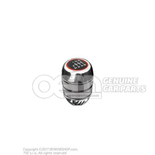 Gearstick knob aluminium 420711141P 3Q7