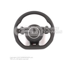 Multifunct. sports strng wheel (leather) OEM01455251