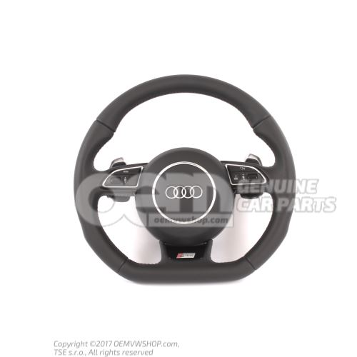 Multifunct. sports strng wheel (leather) OEM01455251