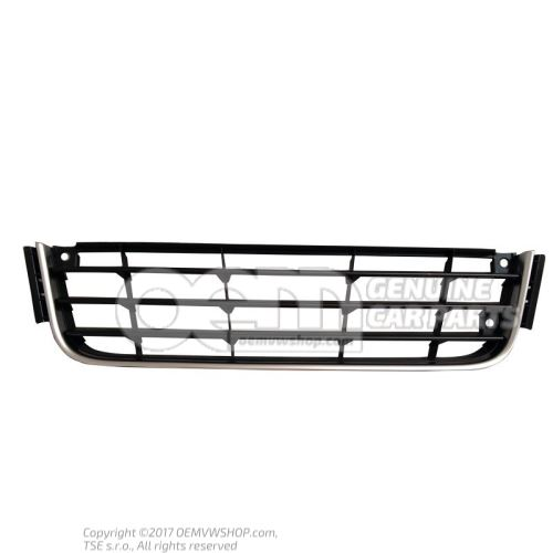 Vent grille satin black lower centre 1T0853671A UBN