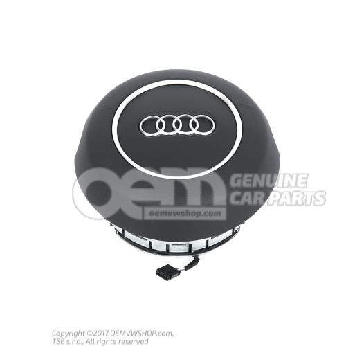 Airbag unit for steering wheel soul (black) (plastic) 4G0880201F 6PS