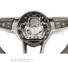 Volant sport multifonctions (cuir ajoure) volant sport multifonctions (cuir) soul (noir)/gris roche 8S0419091ABJAH
