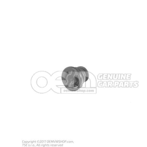 Oil drain plug with Seal plastic AUDI VW 06L103801