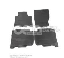 1 к-т ковриков (резиновые) чёрный 7P1061500 041