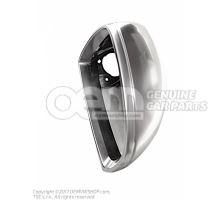 Exterior mirror housing aluminium 8J0857502B 3Q7
