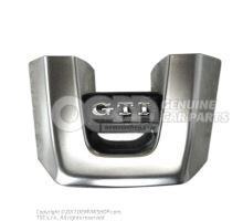 Emblema aluminio/negro titanio 5K0419685P UTF