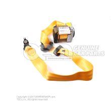 Трёхточечный автоматич. ремень жёлтый/чёрный satinschwarz 6Y0857701A UWN