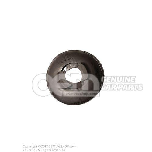 Capot de blindage pour patin metal-caoutchouc 443199469C