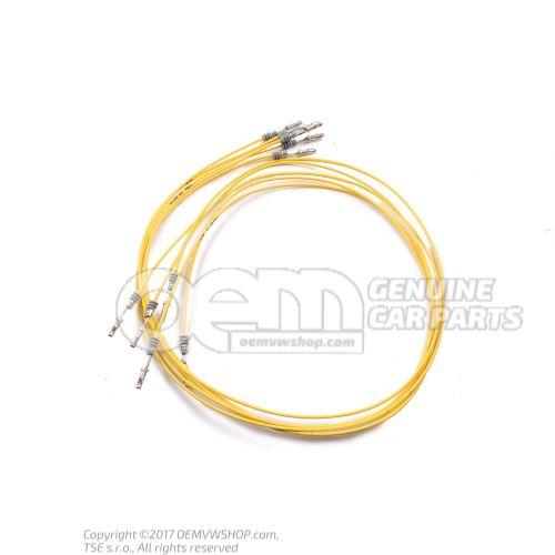 1 комплект отдельных проводов, каждый провод с 2 контактами в упаковке 5 штук 'заказ по 5' 000979033E