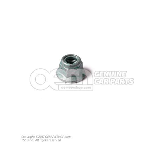 N  10106402 Hexagon collar nut self-locking M12X1,5