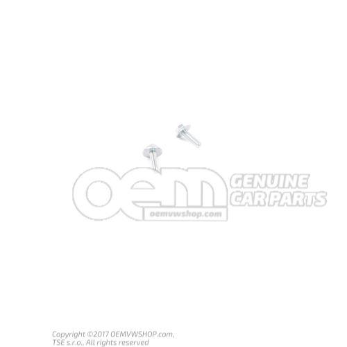 N  10106905 Vis 6 pans (avec rondelle) M8X32