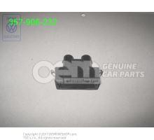 Boitier a fiche plate avec joint 357906232