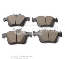 1 set of brake pads for disk brake 3Q0698451C