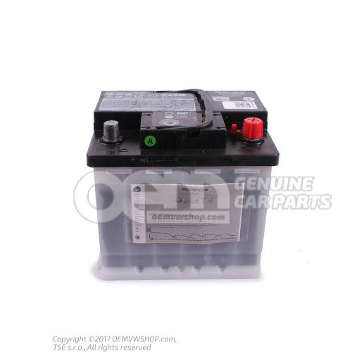 带电量显示器的蓄电池, 已加注、已充电 000915105DB