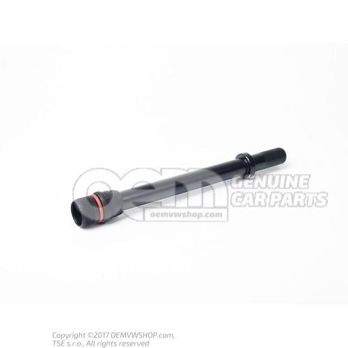 Tube for oil dipstick
