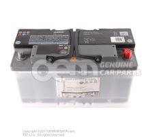 蓄电池,带电量显示 已加注和充电         'ECO' JZW915105E