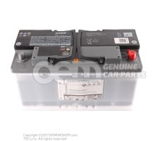 АКБ с индикатором степени зарядки,заправлен. и заряжен.       'детали Economy' JZW915105E