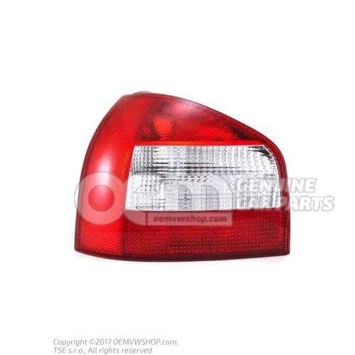 Tail light with fog light left 8L0945095B