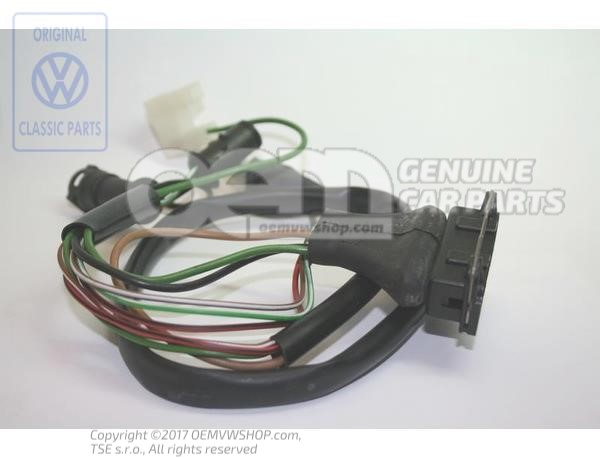 Wiring harness for transistorized ignition system 025971131A ... on