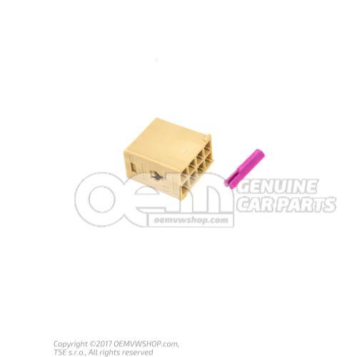 扁触头外壳 装有 接触联锁装置 3B7035447